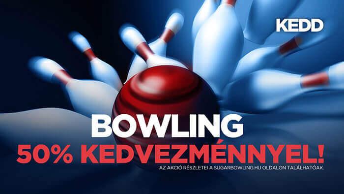 Sugár Bowling & Pub - Keddi ajánlatunk