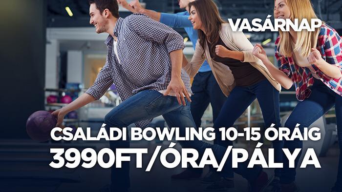 Sugár Bowling & Pub - Vasárnapi ajánlatunk
